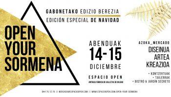 edicion navidad open your sormena